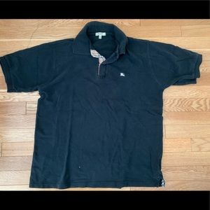 Burberry polo shirt for men size M